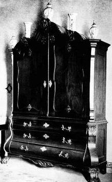 Stinkwood armoire