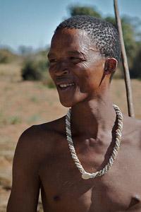 San tribesman